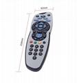 sky tv waterproof LCD tv remote control