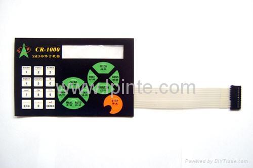 overlay mylar label panel charger label 1