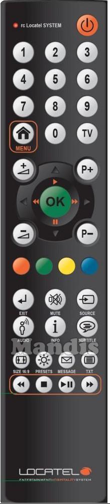 酒店遥控器防水电视遥控器 2