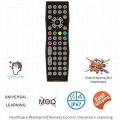 Healthcare tv remote control