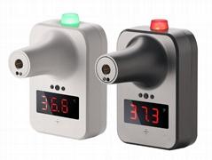 Temperature measure and liquid sprayer convid-19