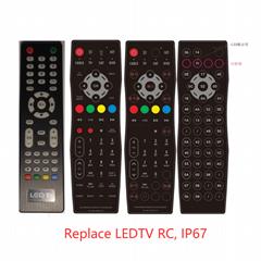 替換LEDTV遙控器дистанционный пульт