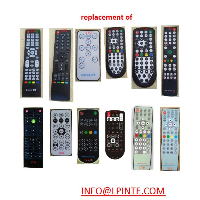 MIRROR TV remote control waterproof universal lcd tv 4
