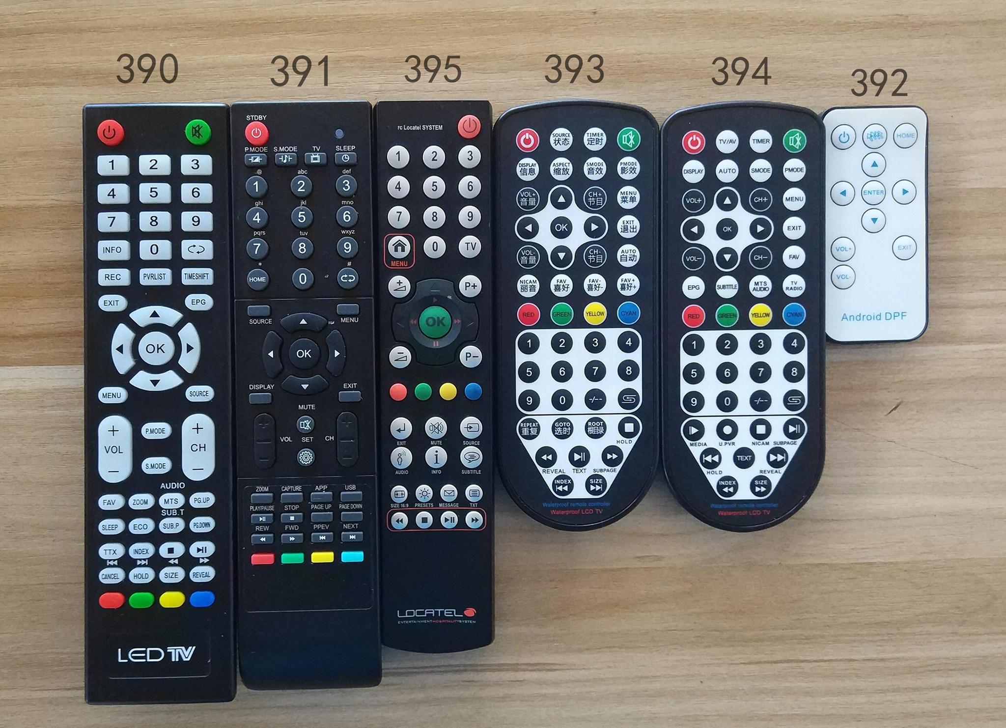 replace waterproof tv remote control konci raysgem taka platina evervue 8