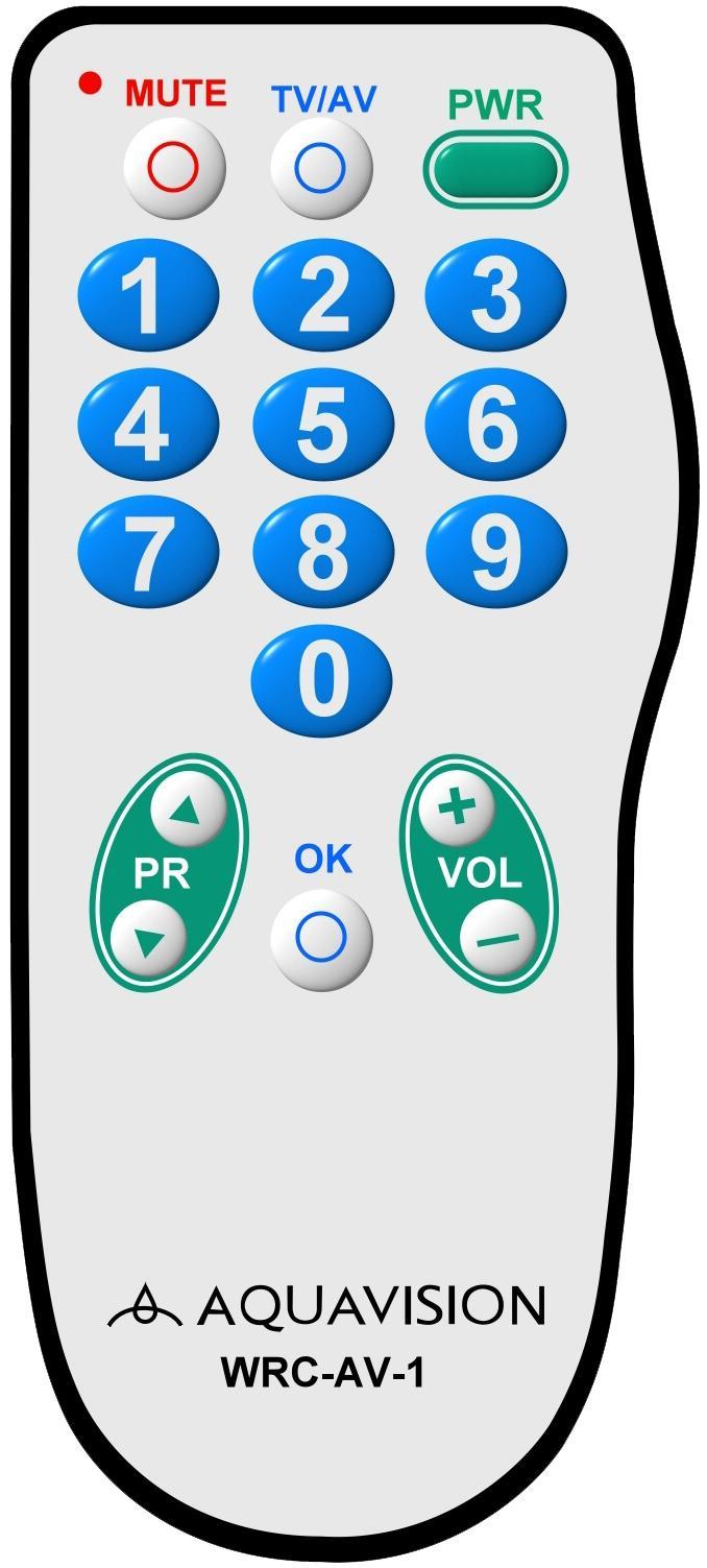 酒店遥控器防水电视遥控器 4