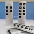 auto switch aluminum remote control for audio speaker cleaner
