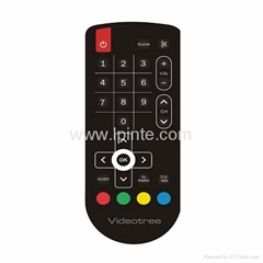 waterproof TV remote control IPTV tv box 2.4g rf remote