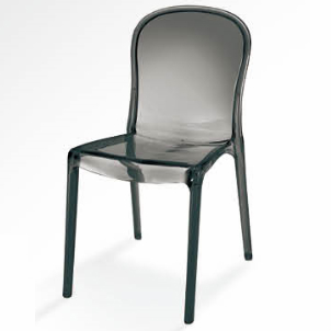 Kartell Thalya Chair Club bar Dining Chair Clear Plastic Club Chair 3