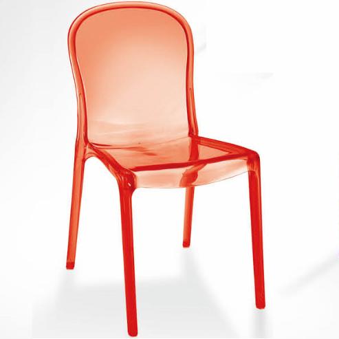 Kartell Thalya Chair Club bar Dining Chair Clear Plastic Club Chair 2