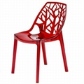 Magis Vanity Chair Clear Plastic Dining Chair Furniture Pc109a Ntuple China Manufacturer