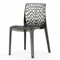 clear plastic Gruvyer chair/transparent plastic club chair furniture 2