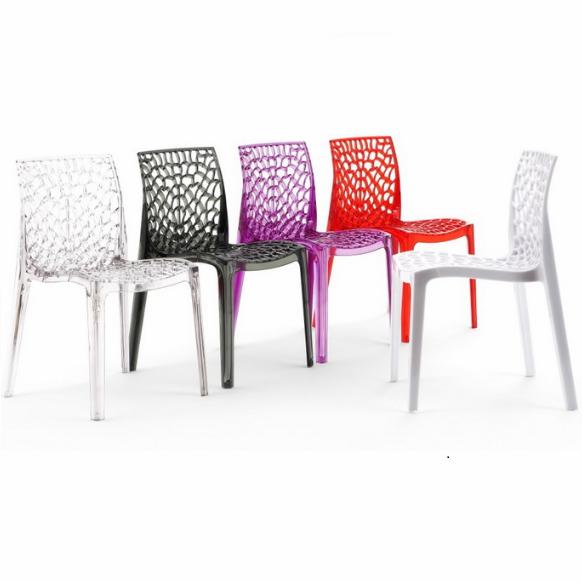 clear plastic Gruvyer chair/transparent plastic club chair furniture 3