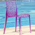 clear plastic Gruvyer chair/transparent