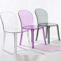 Magis Vanity Chair Clear Plastic Dining Chair Furniture 2