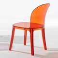 Magis Vanity Chair Clear Plastic Dining Chair Furniture 1