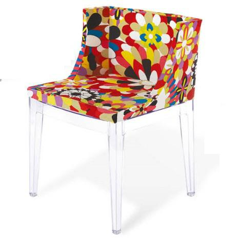 Kartell Mademoiselle Chair Home Clear Plastic Dining Chair 1 ...