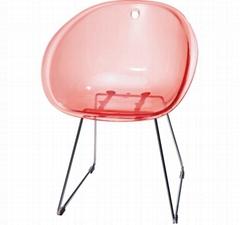 Gliss Chair Replica Gliss 921 Chair Furniture Transparent Plastic Dining Chair