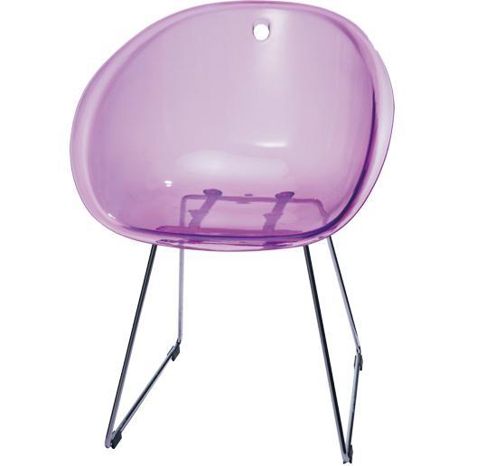 Gliss Chair Replica Gliss 921 Chair Furniture Transparent Plastic Dining Chair 3