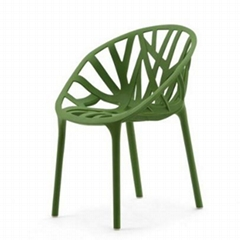 Vitra Vegetal Chair Outdoor Plastic Dining Chair