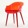 clear plastic Cyborg chair club furniture 2