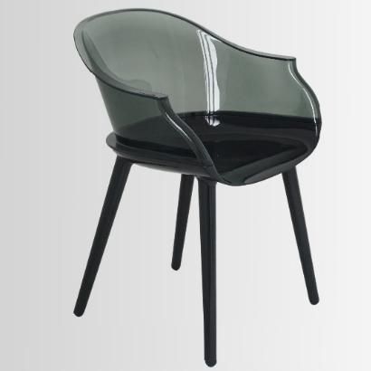 Clear Plastic Cyborg Chair Club Furniture 1 ...