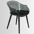 clear plastic Cyborg chair club