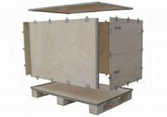 上海包顺包装厂家生产定制供应钢带箱