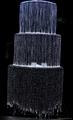 光纖瀑布流水光纖