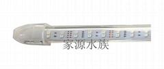 潜水七色龙鱼水晶灯LED5050贴片