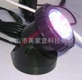 LED水陸兩用燈塑料外殼水底射燈 1