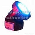 LED水陸兩用燈塑料外殼水底射燈 2