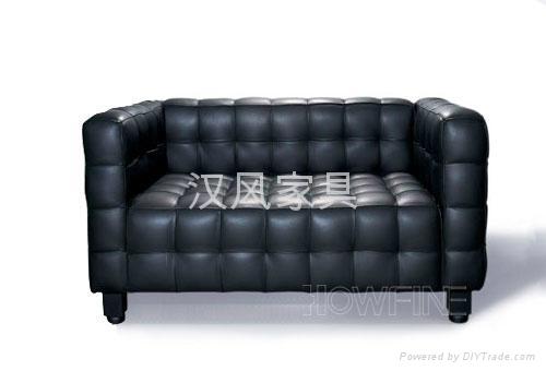 真皮沙发 [Kubus-2S] 1