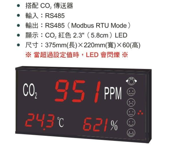 CO2+温、湿度传送器 2