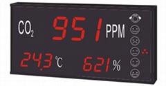 CH880 CO2+溫度+濕度三合一LED顯示器