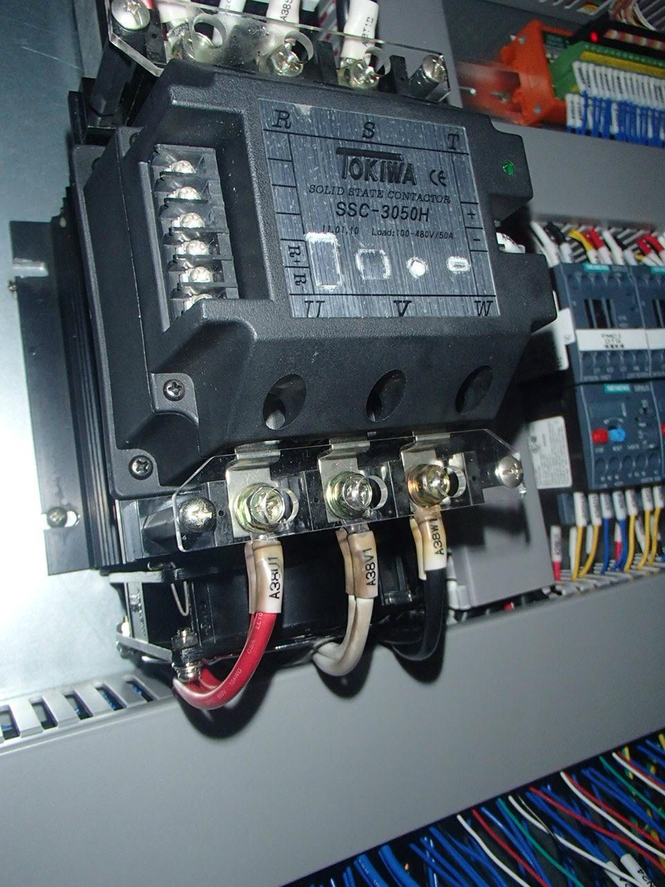 TOKIWA   power regulator SCR Solid state contactor 5