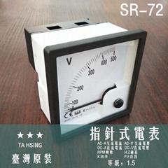 TA HSING Pointer meter SR-72 TEW
