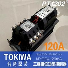 TOKIWA PT1002 PT1202 PT1204 THREE PHASE POWER CONTROLLER