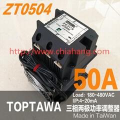 台湾原装 TOPTAWA 电力调整器 ZT0304 ZT0504L ZT0704 三相零位