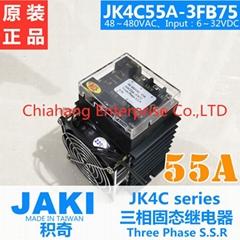 JAKI three-phase solid state relay JK4C55A-3FB75 JK SSR