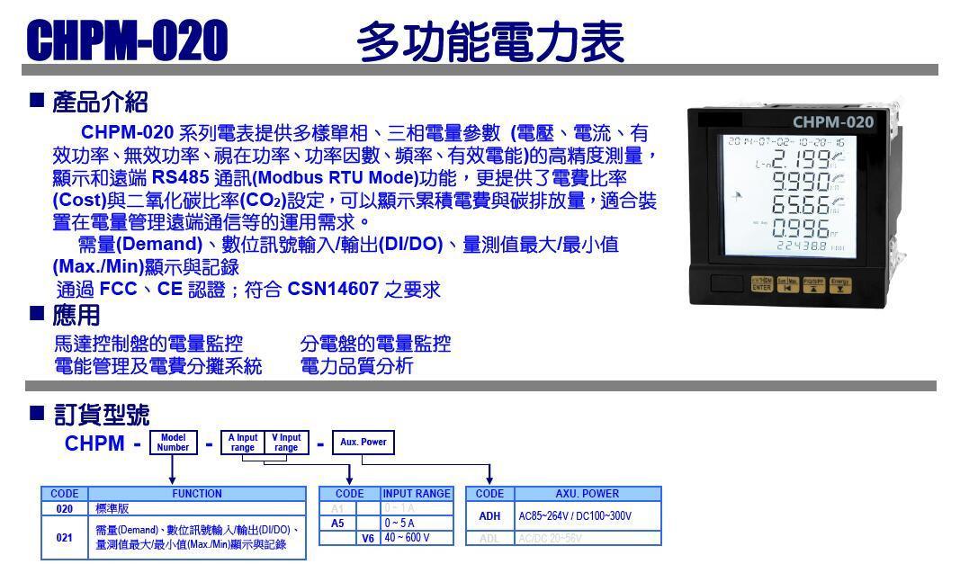 CHPM-020 CPM-20