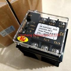 JK Three-phase SSR solid state relay JK4C25A-3B75