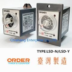 ORDER TIMER TWIN Delay&Timing Relays  LFT-N LFT-Y LTT-N LDT NC-411-4  LDC-411