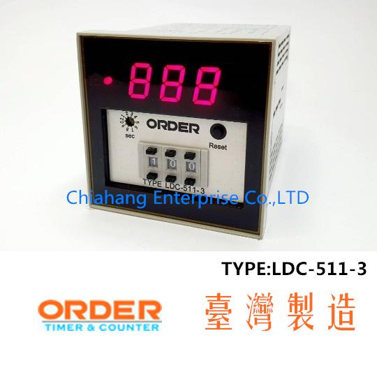 ORDER TAIWAN Time Delay & Timing Relays  LDC-511-3
