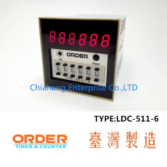 ORDER TIMER TAIWAN LDC-511-6 LDC-511-4 LDC-511-3
