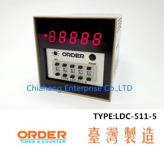 ORDER TAIWAN LDC-511-5
