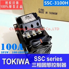 TOKIWA SSC-3100H solid state contactor Three-phase solid state relay