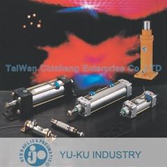 台湾 YU-KU INDUSTRY YUKU  气缸  油压缸  空压缸  油压阀  气压阀