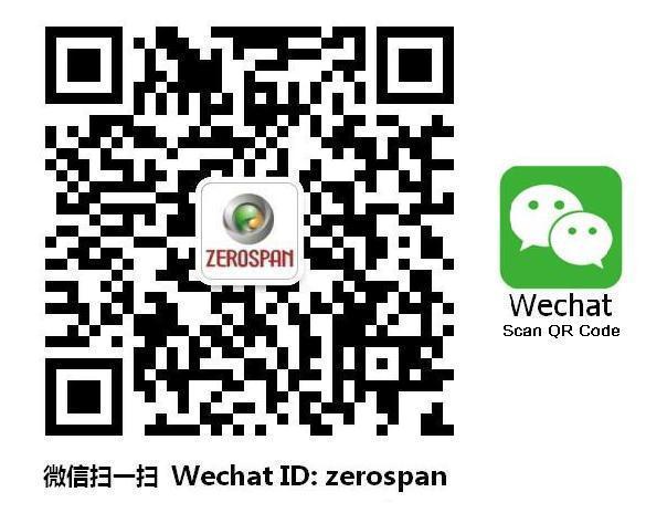 ZEROSPAN WECHAT ID LINE ID QQ ID