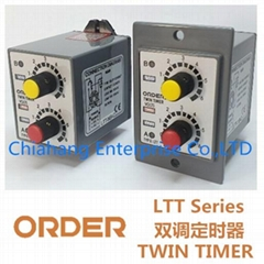 TAIWAN ORDER TWIN TIMER  LTT-ND LTT-YD LTT-NB LTT-YB