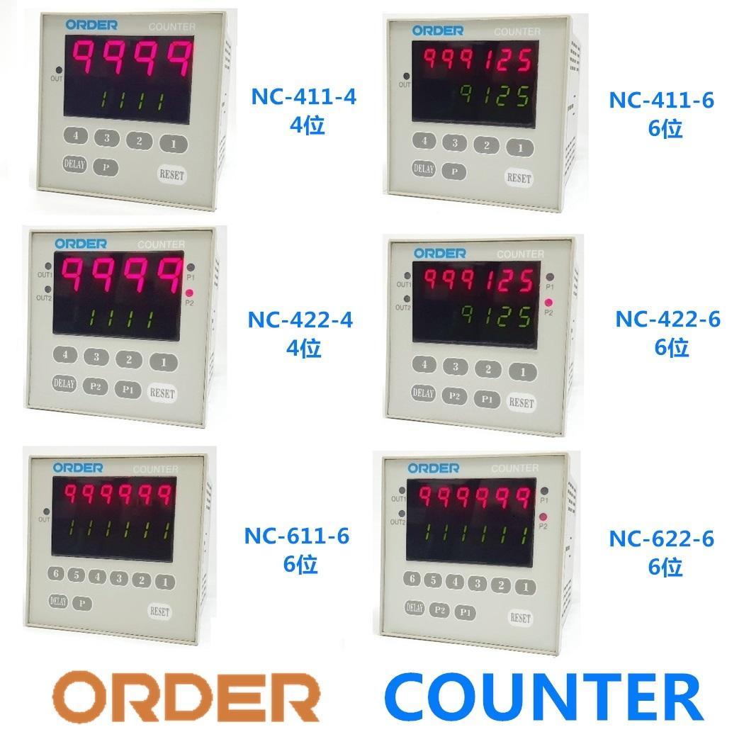 ORDER COUNTER NC-411 NC-422 NC-611 NC-622